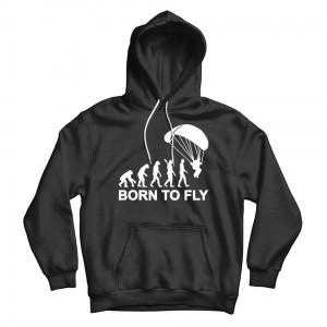 """Толстовка """"Born To Fly SkyDiving"""""""